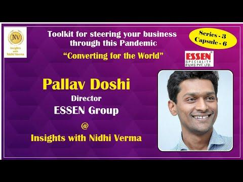 Come join us on Insights with Nidhi Verma as we listen to the esteemed Director of Essen Group, Pallav Doshi speaks about converting the world.  #RajooEngineers #Rajkot #PlasticMachinery #Machines #PlasticIndustry