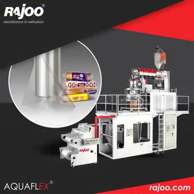 Have a look at different applications of Aquaflex Downward Extrusion Blown Film Lines.   #RajooEngineers #Rajkot