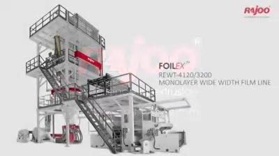 Rajoo Engineers Limited,India offers widest range of customized monolayer blown film lines – FOILEX, to suit a broad spectrum of resins, applications and output levels. Have a look at the working of this masterpiece!  #RajooEngineers #Rajkot #PlasticMachinery #Machines #PlasticIndustry