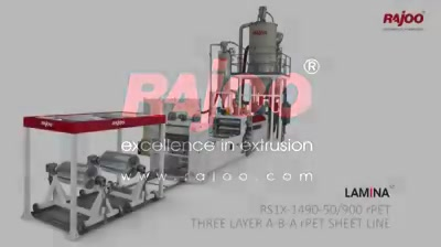 LAMINA series of sheet lines are designed for absolute ease of operation and are available in a host of configurations to suit individual customer's requirements  #RajooEngineers #Rajkot #PlasticMachinery #Machines #PlasticIndustry