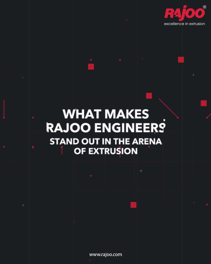 Coming with the perfect synthesis of experience, expertise and excellence Rajoo Engineers stand out in the arena of extrusion.  Take a quick look at the reasons that make us rise and shine: 1. Highly qualified team 2. Advanced process of analysis 3. Customization in services 4. World class integrated facilities 5. Most advanced machine tools & operational techniques  #RajooEngineers #Rajkot #PlasticMachinery #Machines #plasticindustry