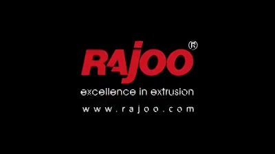 Rajoo Engineers Limited,India offers drip irrigation extrusion systems for round and flat dripper with servo driven dripper insertion device, max output 250kg/hours.  #RajooEngineers #Rajkot #PlasticMachinery #Machines #PlasticIndustry