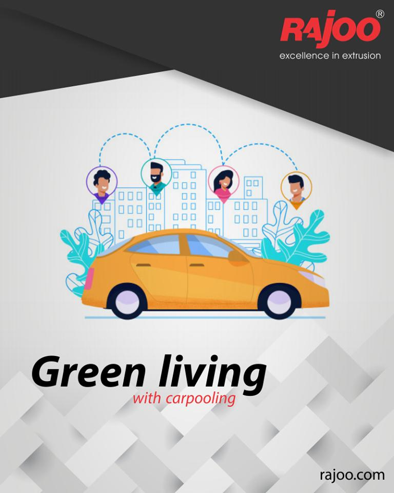 There have to be more than one benefits of Carpooling to be catching up with all at this scale! Here are some of them:  1. Saves Fuel  2. Shared Cost 3. Make Friends 4. Say Bye to Stress 5. Saves Time  #GoGreen  #RajooEngineers #Rajkot #PlasticMachinery #Machines #PlasticIndustry https://t.co/x0BnIEqTdu