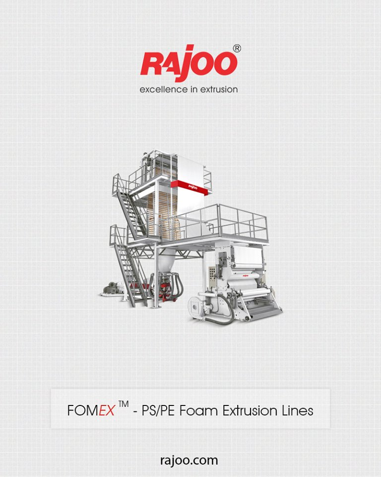 Rajoo Engineers Limited,India has done pioneering developments in polymer foam extrusion in India and have emerged as the only supplier  ReadMore: https://t.co/8DkhzFCFzR  #RajooEngineers #PlasticMachinery #Machines #PlasticIndustry https://t.co/9pY4xrnTgX