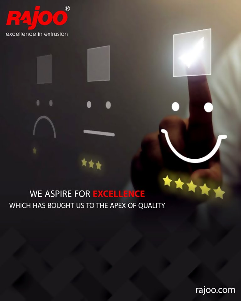 Achieving excellence is a compulsion for us  #RajooEngineers #PlasticMachinery #Machines #PlasticIndustry https://t.co/fudxH6xJUS