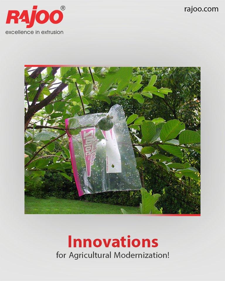 Innovations for Agricultural Modernization!  #Multifoil #ManyUsesofPlastics #RajooEngineers #Rajkot #PlasticMachinery #Machines #PlasticIndustry https://t.co/83gMRkYfDD