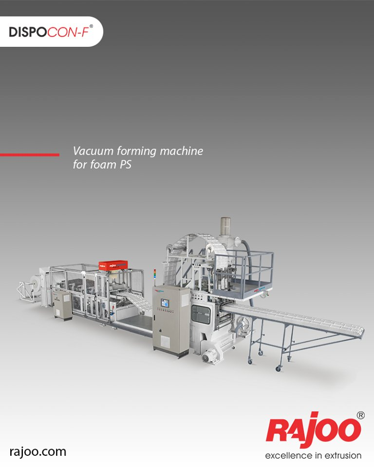 Rajoo Commodore vacuum formers are built for the rigorous environment of the production floor and specially  ReadMore:https://t.co/1sjHKgmvBu  #RajooEngineers #Rajkot #PlasticMachinery #Machines #PlasticIndustry https://t.co/u9kJyHnZVl
