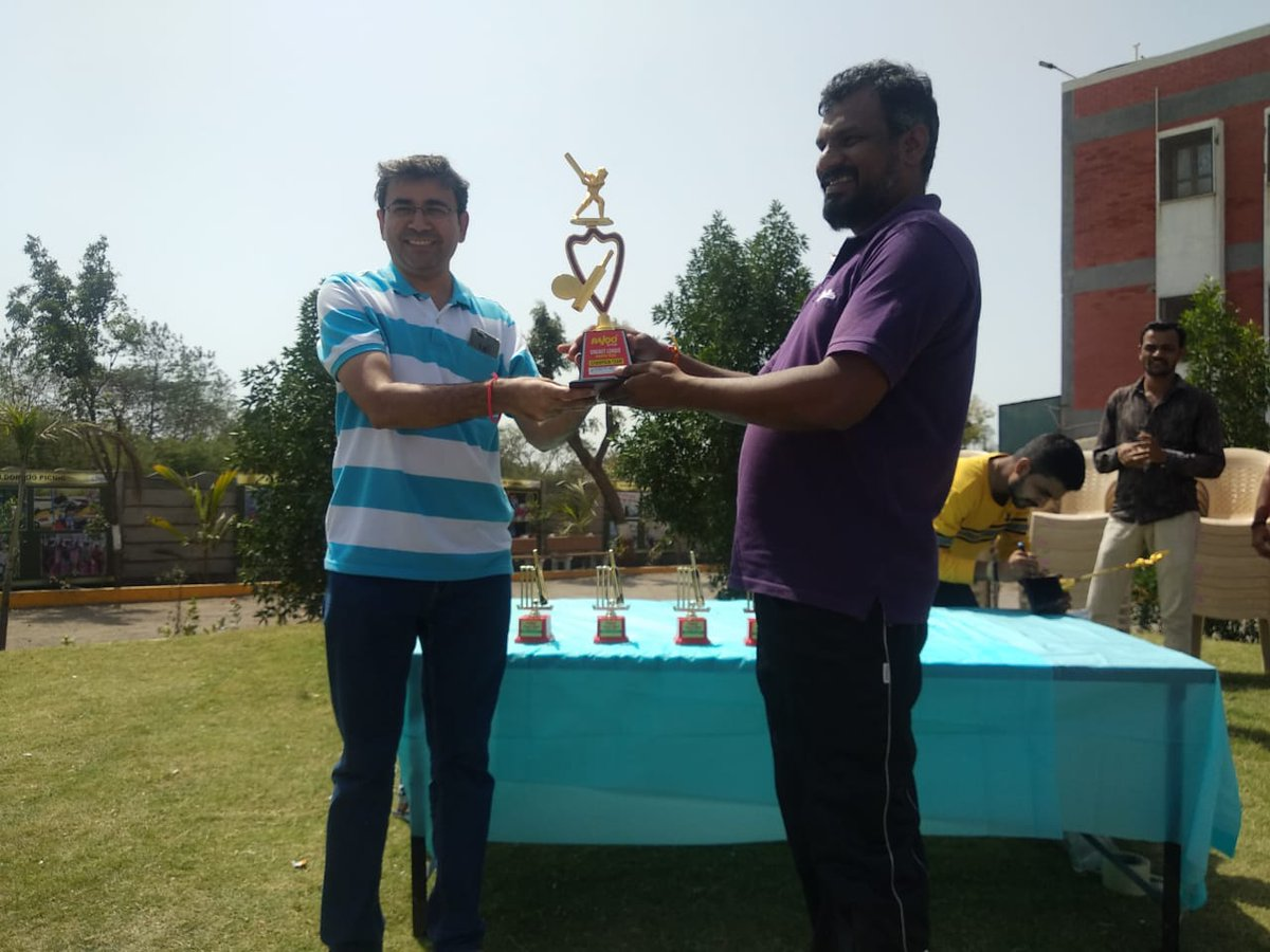 :: Glimpses from Cricket Tournament, Rajoo Premium League (RPL) ::A first step towards encouraging healthy relationships, and promoting fitness and fun through friendly competition.  #RajooPremiumLeague #CricketTournament #RajooEngineers #Rajkot #PlasticMachinery #PlasticIndustry https://t.co/xZ04d2Ti2k