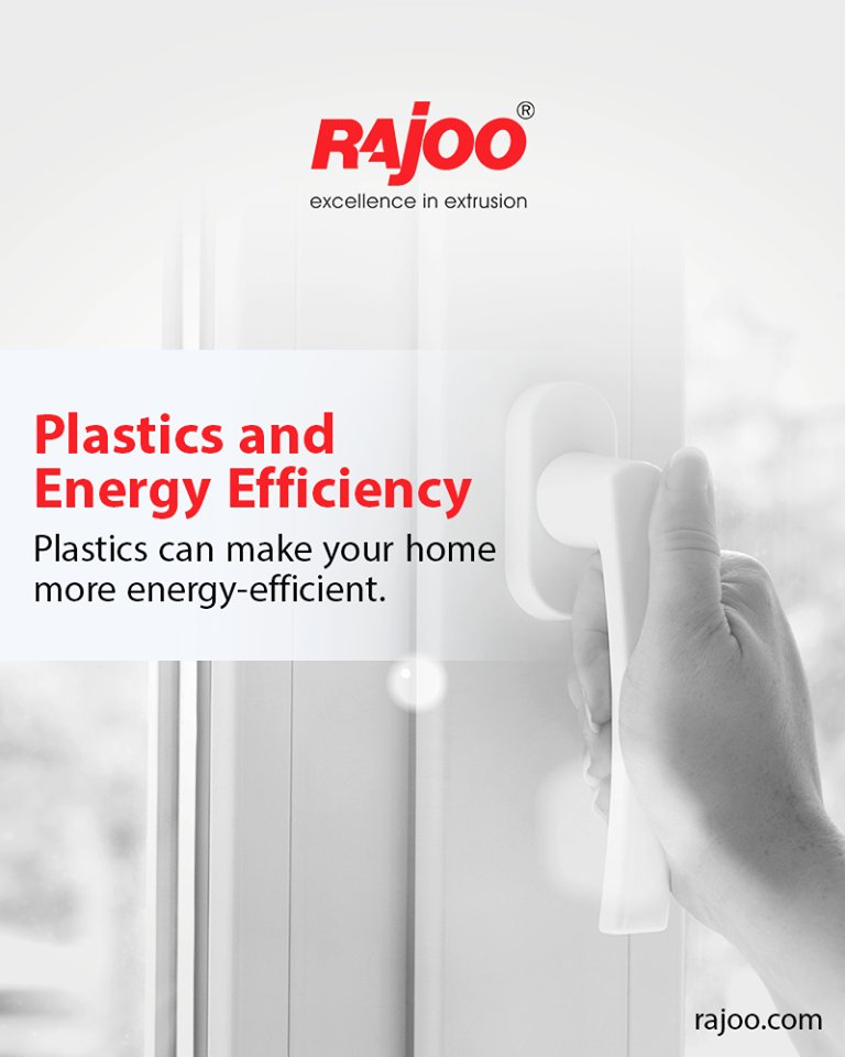 Plastics can make your home more energy-efficient. Plastic sealants and caulks can seal up window leaks and plastic  ReadMore:https://t.co/5xjrwrawa1  #DidYouKnow #PlasticFacts #RajooEngineers #Rajkot #PlasticMachinery #Machines #PlasticIndustry https://t.co/llYRz2My6C