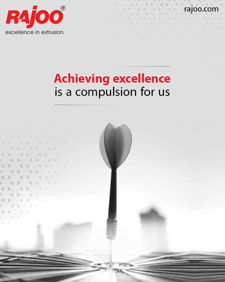 We aspire for excellence which has bought us to the apex of quality.  #RajooEngineers #Rajkot #PlasticMachinery #Machines #PlasticIndustry https://t.co/69X2I6ip7K