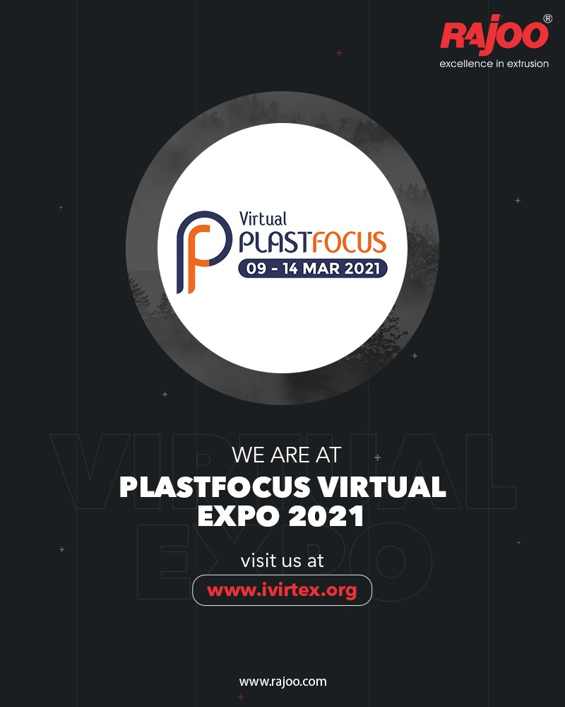 We are at PlastFocus Virtual Expo 2021 visit us at- https://t.co/azAOYvC7gL  #RajooEngineers #Rajkot #PlasticMachinery #Trending https://t.co/5CPgggIhPo