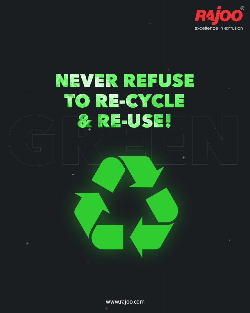 Although our planet is spacious; there is no room for the piles of unwanted & un-decomposed wastes.  Awaken up to the benefits of recycling and never refuse to reduce and reuse for the purpose of civic good.  #RajooEngineers #Rajkot #PlasticMachinery #Machines #PlasticIndustry https://t.co/IiDLkiBEA9